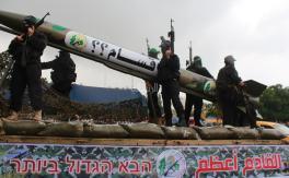 عرض عسكري مهيب للقسام في ذكرى إنطلاقة حماس