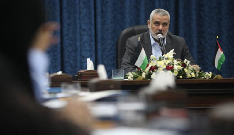 هنية : قوافل الاغاثة تؤكد مركزية قضية فلسطين