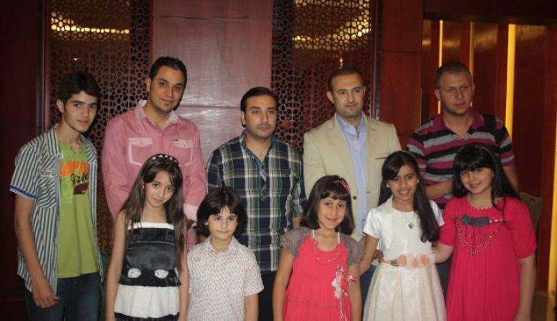 نجوم قناة كراميش بغزة