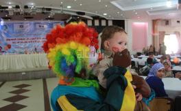حفل ترفيهي لأبناء شهداء العدوان على غزة
