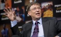 بيل غيتس (مؤسس شركة مايكروسوفت ومديرها التنفيذي السابق)