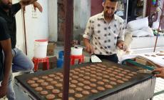 بيع القطايف في غزة
