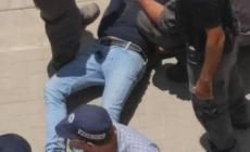 صورة لاعتقال الشاب