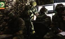 صورة من غرة ادارة المعركة نشرها موقع القسام