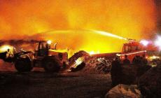 حريق في مستوطنة موشاف غيلات بسبب البالونات الحارقة