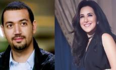 """مسعود أعلن زواجه من الممثلة على هامش بيان صحفي خصص عن مسلسل """"السهام المارقة"""""""