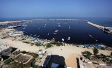حوض ميناء غزة البحري