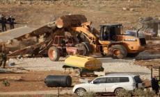 الاحتلال يهدم 7 منشآت سكنية بالأغوار الشمالية