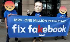 """""""ديفاينرز"""" شوهت سمعة المتظاهرين ضد شركة فيسبوك"""