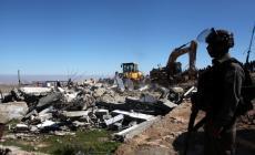 الاحتلال يهدم منزلا في تجمع مريحة جنوب غرب جنين