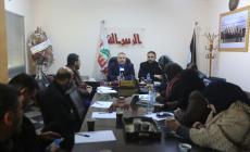خلال اللقاء مع الدكتور اسماعيل رضوان القيادي في حركة حماس