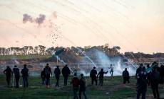 ضمن فعاليات مسيرات العودة شرق غزة