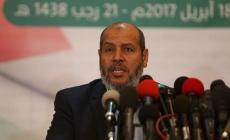 """عضو المكتب السياسي لحركة """"حماس""""، خليل الحية"""
