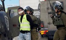 قوات الاحتلال تعتقل 10 مواطنين في الضفة