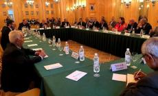 صورة خلال اجتماع الفصائل الفلسطينية في موسكو