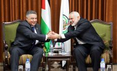 الوفد الأمني المصري يلتقي هنية بغزة