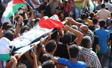 جماهير سلفيت تشيع الشهيد محمد عبد الفتاح