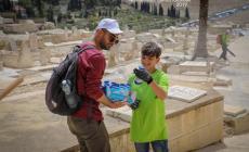 """آلاف المتطوعين يشاركون في معسكر """"القدس أولاً"""" العاشر"""