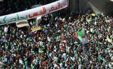 صورة من التظاهرات في الجزائر