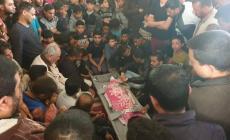 صورة من تشيع جثمان الطفل شقفة