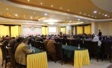 صورة من لقاء اليوم الذي عقدته حركة حماس وفصائل العمل الوطني والإسلامي وقيادات المجتمع المدني