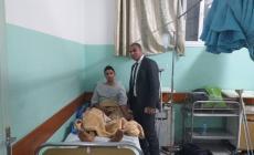 وشاح برفقة علاء بدوان رئيس الزيتون