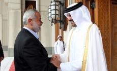 هنية يشكر قطر على دعمها الشعب الفلسطيني بـ480 مليون$