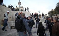 إصابة عدد من الشبان في اعتداء وحشي لقوات الاحتلال في القدس القديمة
