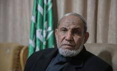 محمود الزهار عضو المكتب السياسي لحركة حماس
