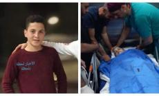 تشييع جثمان الشهيد الفتى عبدالله غيث في الخليل