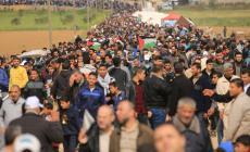 """استعدادات للمشاركة في جمعة """" حرق العلم الاسرائيلي """" شرق غزة"""
