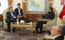 وفد حماس يلتقي أمين عام مجلس الأمن القومي الإيراني