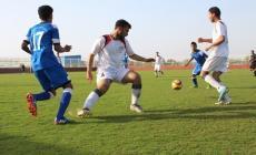 جانب من أحد مباريات فلسطين