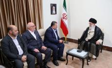 وفد حماس في ايران
