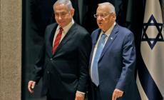 نتنياهو مع رئيس الكيان