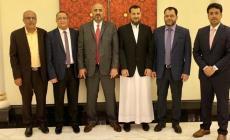 وفد المجلس الانتقالي أجرى مباحثات في جدة مع مسؤولي حكومة عبد ربه منصور هادي (مواقع التواصل)