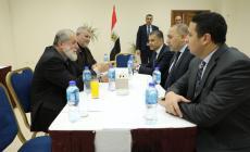 وفد الجهاد في لقاء مع المخابرات المصرية