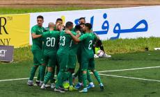 فرحة لاعبي المغرب بالفوز