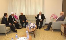 هنية يلتقي رئيس الحزب الإسلامي الماليزي