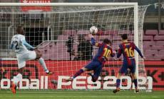 جانب من أحد مباريات برشلونة