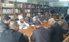 اجتماع وزارة الثقافة مع سلطة الاراضي