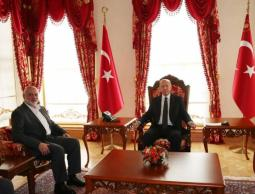 هنية وأردوغان