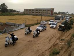 بالصور: أولى دفعات المستضافين في مراكز الحجر بغزة تبدأ بالمغادرة