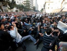 فضّ مظاهرات بمصر(أرشيف)
