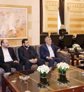 تفاصيل لقاء وفد حماس مع سعد الحريري ونبيه بري في بيروت