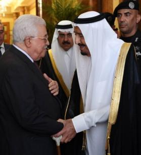 عباس يصل السعودية غدًا للقاء الملك سلمان