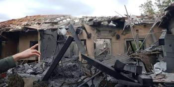 أضرار صاروخ (تل أبيب)