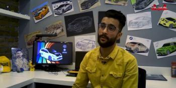 #شاهد| شاب من غزة صمم لشركة بي ام دبليو  سياراتها _  Mercedes - BMW
