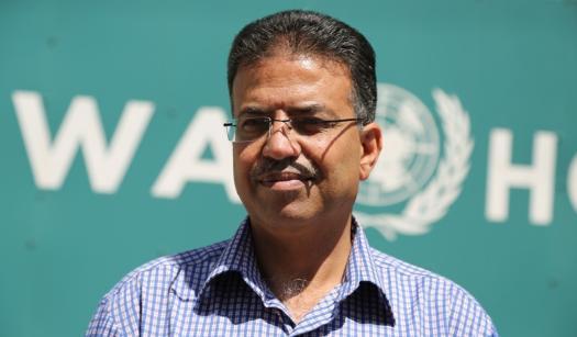 نان أبو حسنةالمتحدث باسم الوكالة في غزة