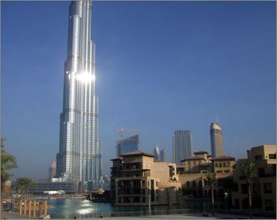 برج دبي الاعلى بالعالم